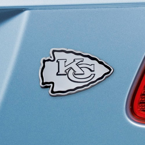 NFL - Kansas City Chiefs Chrome Emblem 3