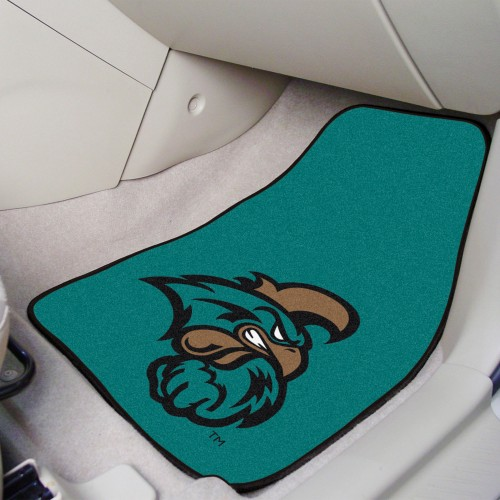 Coastal Carolina 2-pc Carpeted Car Mats 17