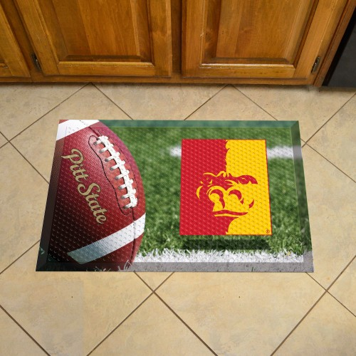 Pittsburg State University Scraper Mat 19