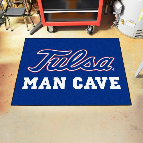 Tulsa Man Cave All-Star Mat 33.75