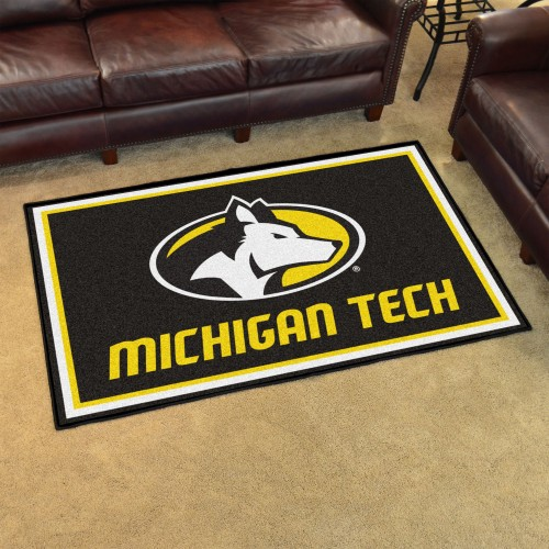 Michigan Tech University 4'x6' Rug