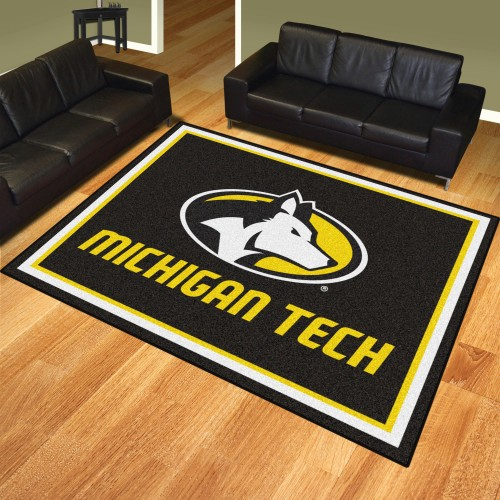 Michigan Tech University  8'x10' Rug