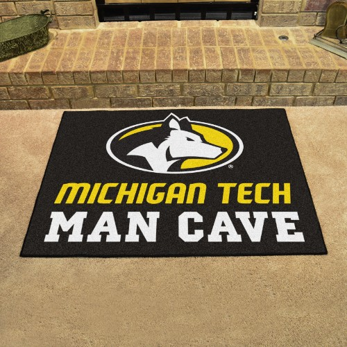 Michigan Tech University Man Cave All-Star Mat 33.75