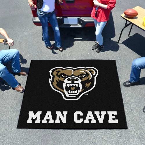 Oakland Man Cave Tailgater Rug 5'x6'