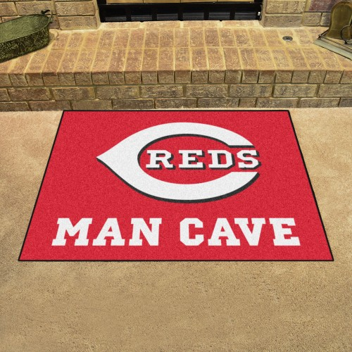 MLB - Cincinnati Reds Man Cave All-Star Mat 33.75