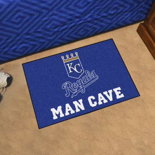 MLB - Kansas City Royals Man Cave Starter Rug 19
