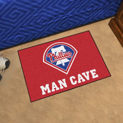 MLB - Philadelphia Phillies Man Cave Starter Rug 19