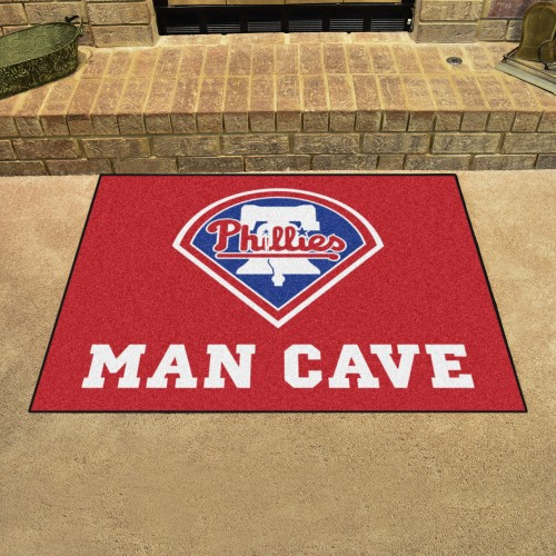 MLB - Philadelphia Phillies Man Cave All-Star Mat 33.75