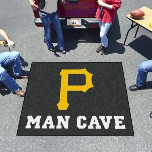 MLB - Pittsburgh Pirates Man Cave Tailgater Rug 5'x6'