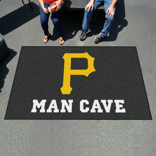 MLB - Pittsburgh Pirates Man Cave UltiMat 5'x8' Rug