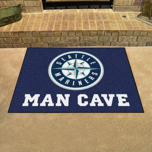 MLB - Seattle Mariners Man Cave All-Star Mat 33.75