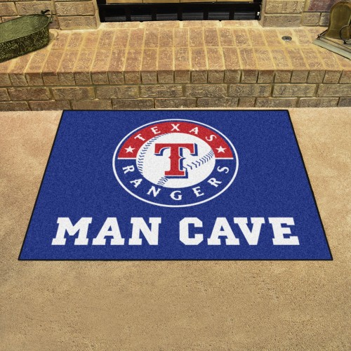 MLB - Texas Rangers Man Cave All-Star Mat 33.75