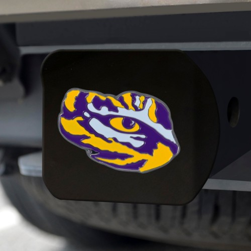 Louisiana State University Color Hitch Black 3.4