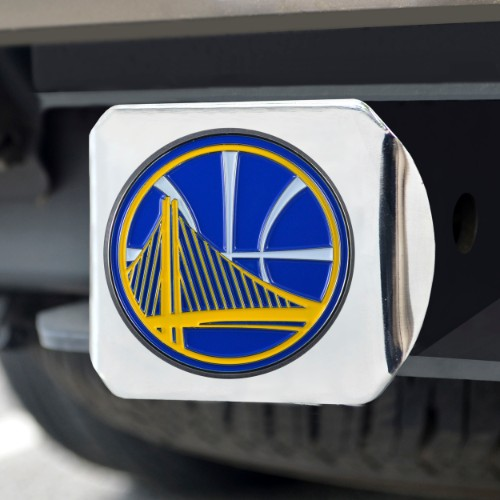 NBA - Golden State Warriors Color Hitch Chrome 3.4