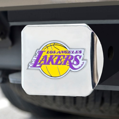NBA - Los Angeles Lakers Color Hitch Chrome 3.4