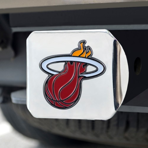 NBA - Miami Heat Color Hitch Chrome 3.4