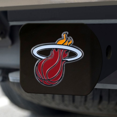 NBA - Miami Heat Color Hitch Black 3.4