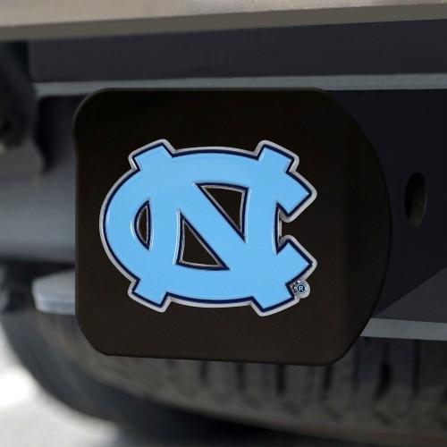 "University of North Carolina - Chapel Hill Color Hitch Black 3.4""x4"""