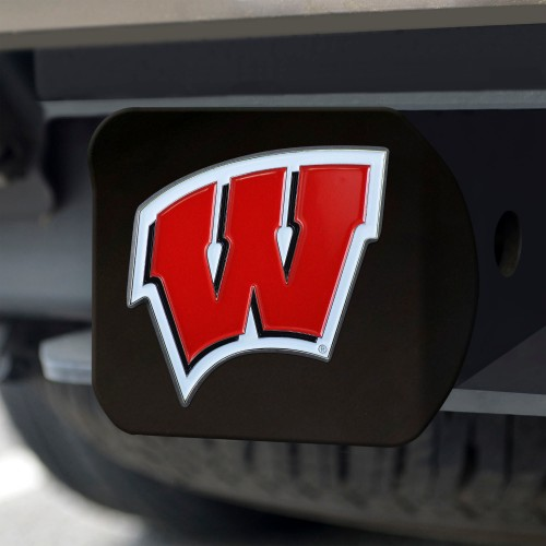 University of Wisconsin Color Hitch Black 3.4