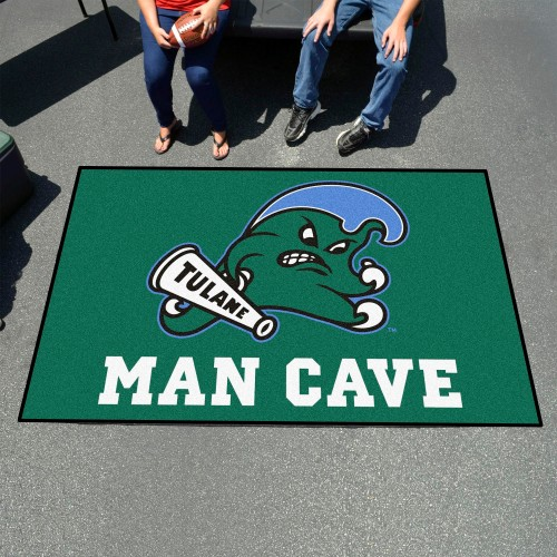 Tulane Man Cave UltiMat 5'x8' Rug