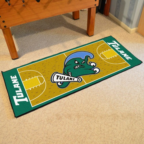 Tulane Basketball Court Runner 30