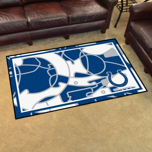 NFL - Indianapolis Colts 4'x6' Rug