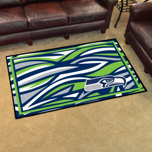 NFL - Seattle Seahawks 4'x6' Rug