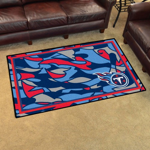 NFL - Tennessee Titans 4'x6' Rug