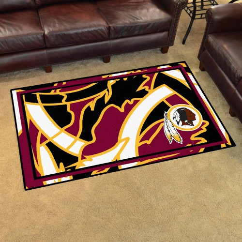 NFL - Washington Football 4'x6' Rug