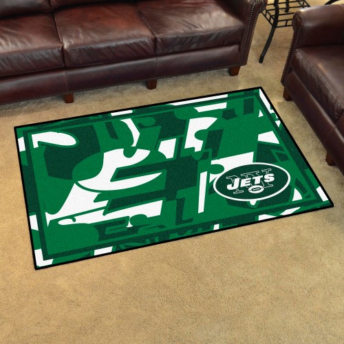 NFL - New York Jets 4'x6' Rug