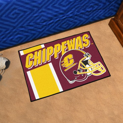 Central Michigan Uniform Starter Rug 19