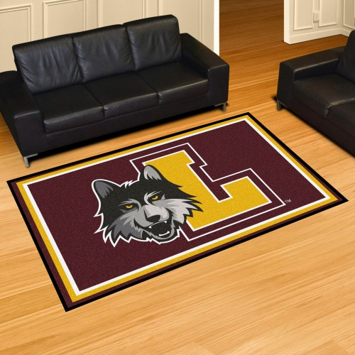 Loyola Chicago 5x8 Rug 59.5